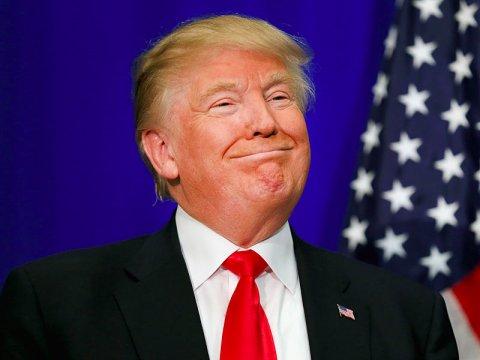 Donald Trump Rosacea