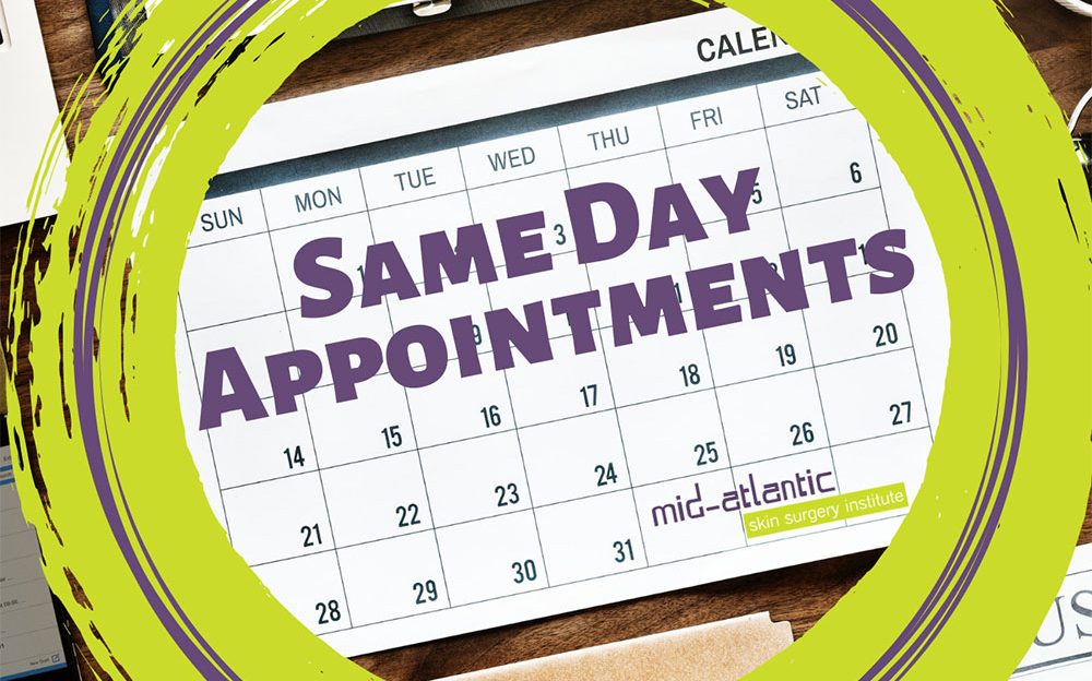same day appointments maryland